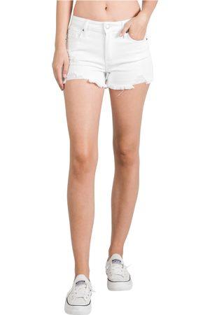 L.T.J. Women's L.t.j Distressed Denim Shorts