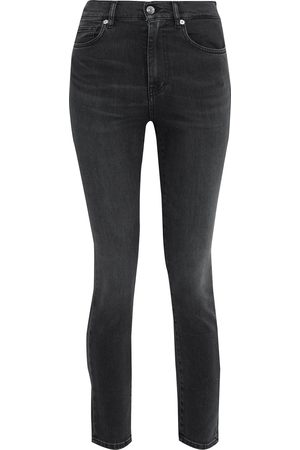 IRO Women High Waisted - Woman Hauss Cropped High-rise Skinny Jeans Size 24