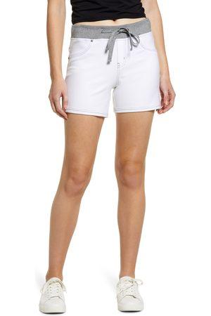 HUE Women's Wearever Sweatshirt Denim Shorts