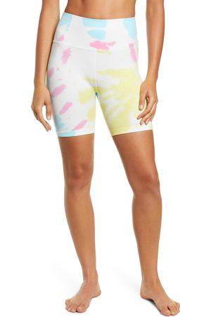 Spiritual Gangster Women Shorts - Women's Women's High Waist Biker Shorts