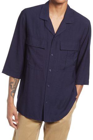 Scotch&Soda Men's Men's Short Sleeve Button-Up Shirt
