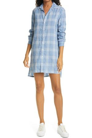 FRANK & EILEEN Women's Hunter Linen Blend Long Sleeve Button-Up Dress