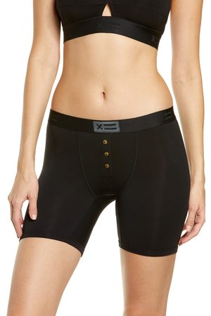 TOMBOYX Women Briefs - Women's Button Fly Boxer Briefs