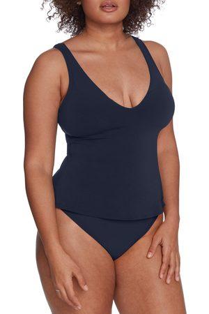 Robin Piccone Women's Ava Tie Back Tankini Top