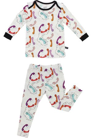 Peregrine Toddler Girl's Peregrine Kids Fitted Two-Piece Pajamas