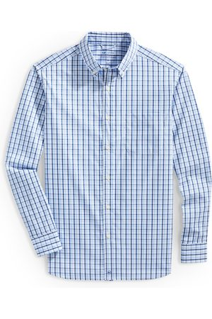 Vineyard Vines Men's Classic Fit Check Button-Down Performance Shirt