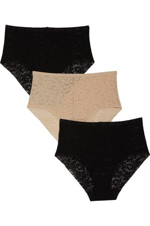 TC Women's Assorted 3-Pack Lace Briefs