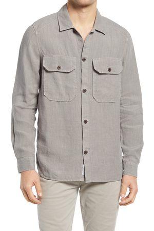 Closed Men's Army Linen Shirt Jacket
