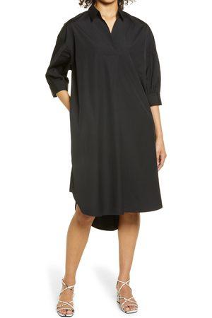 Nordstrom Women's Oversize Three-Quarter Sleeve Shirtdress