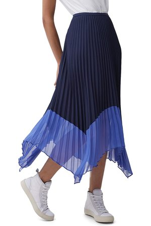 French Connection Women's Ali Pleated Midi Skirt