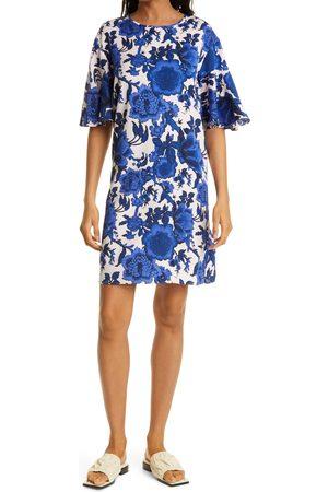 DVF Women's Arlene Floral Shift Dress