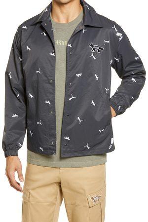 PUMA Men's X Maison Kitsune Coach's Jacket