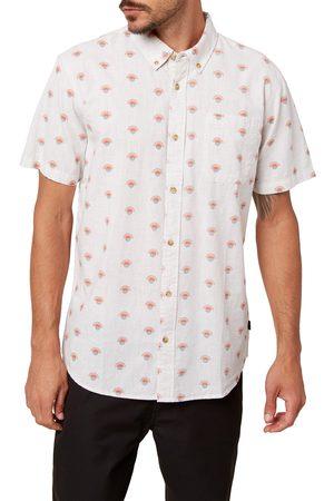 O'Neill Men's Horizon Slim Fit Short Sleeve Button-Down Shirt