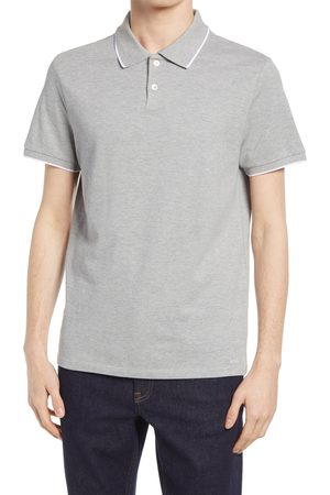 A.P.C. Men's Max Tipped Short Sleeve Polo