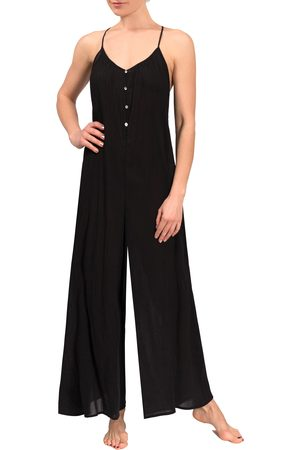 Everyday Ritual Women's Kaitlyn Wide Leg Sleep Jumpsuit