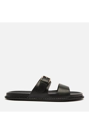WALK LONDON Men Sandals - Men's Adam Leather Double Strap Sandals