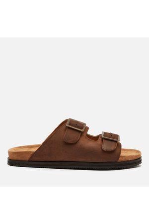 WALK LONDON Men Sandals - Men's Sunset Suede Double Strap Sandals