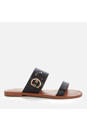 Coach Women Sandals - Women's Harlow Leather Sandals
