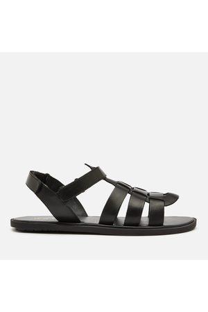 WALK LONDON Men Sandals - Men's Leather Gladiator Sandals