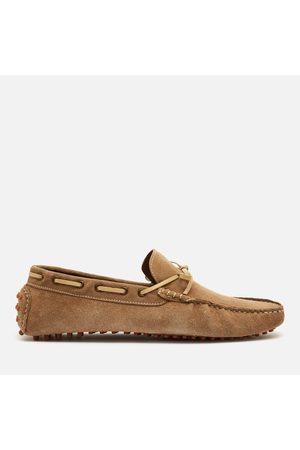WALK LONDON Men Shoes - Men's Santino Suede Driving Style Shoes