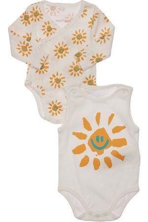Stella McCartney Set Of 2 Organic Cotton Bodysuits