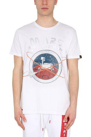 "Alpha Industries Men T-shirts - T-shirt ""mission to mars"""