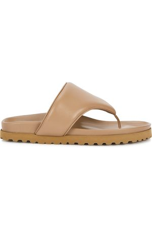 GIA Women Sandals - X Pernille Teisbaek brown leather sandals