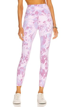 Beyond Yoga Women Leggings - High Waisted Midi Legging in Pink