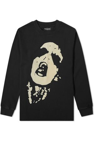 Pleasures Long Sleeve Shout Tee