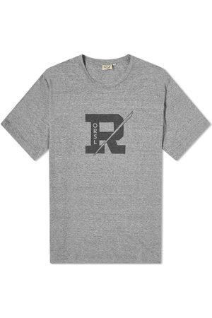 ORSLOW Men T-shirts - R-Print Logo Tee
