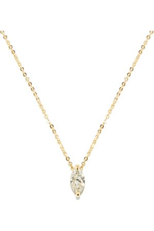 Kat Kim Éternal Marquise Diamond & 18kt Necklace - Womens