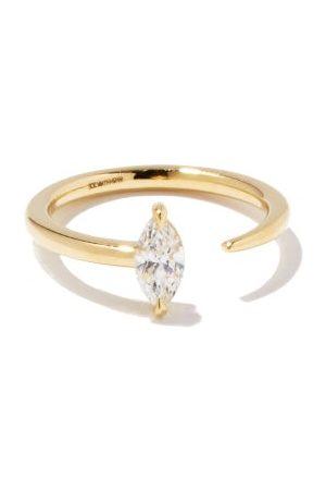 Kat Kim Marquise Crescendo Diamond & 18kt Ring - Womens