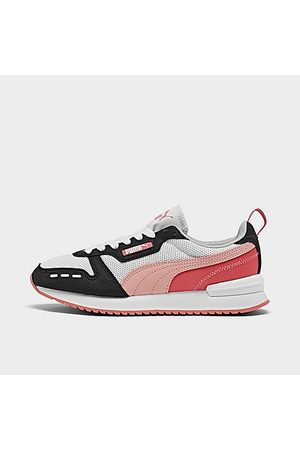 PUMA Girls Casual Shoes - Girls' Big Kids' R78 Casual Shoes in /Pink Size 4.0 Leather/Suede