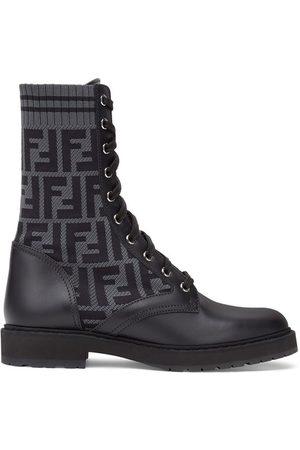 Fendi Women Biker Boots - Leather biker boots