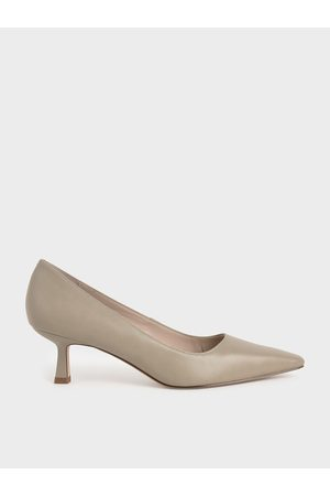 Charles & Keith Women Heeled Pumps - Kitten Heel Pumps