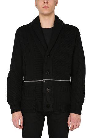 Alexander McQueen Men Cardigans - Cardigan in maglia di lana