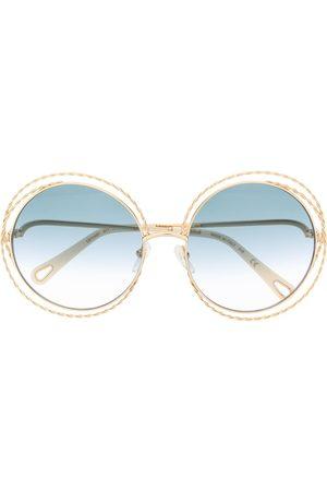 Chloé Women Round - Carlina Chain round-frame sunglasses