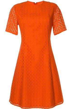 Calvin Klein Women Dresses - Eyelet detail flared dress