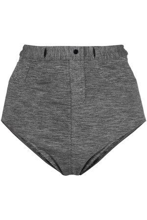 ERES Decorative-button bikini briefs - Grey