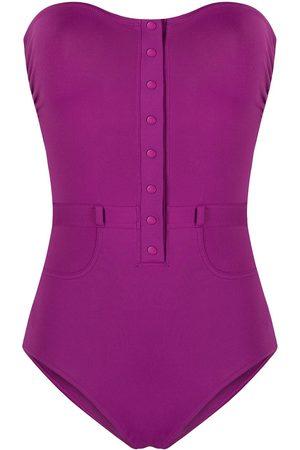 ERES Women Beachwear - Strapless button-plaquet one-piece