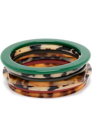 Eres Tortoiseshell bracelet set - Neutrals