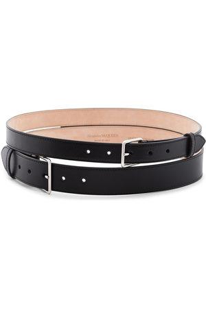 Alexander McQueen Women Belts - Double buckle belt