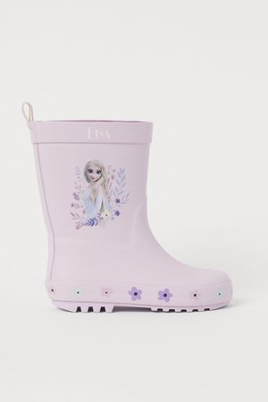 H&M Rubber Boots with Motif