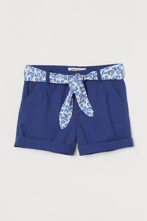 H&M Belted Shorts
