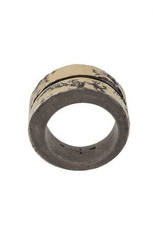 PARTS OF FOUR Rings - 18kt Crevice layered-style ring