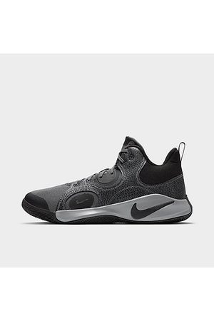 Nike Men Basketball - Fly. By Mid 2 Basketball Shoes in Grey/Cool Grey Size 7.5 Leather