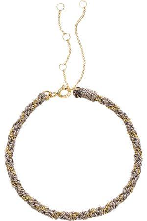 The Alkemistry Women Bracelets - 18kt yellow gold Kumachi bracelet - Grey