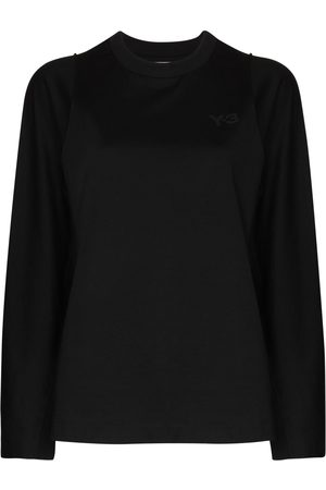 Y-3 Women Long Sleeve - Crew neck long-sleeve T-shirt