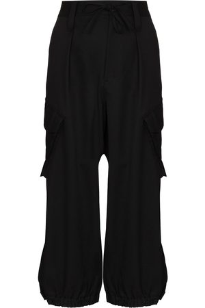 Y-3 High-waisted cargo trousers