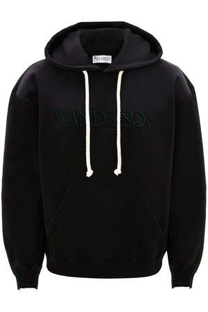 J.W.Anderson Deconstructed fleece back hoodie